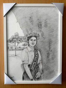 กรอบรูปใส่ภาพวาด